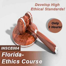 Florida:  3 hr All Licenses CE - Online Ethics Course (INSCE004FL3)